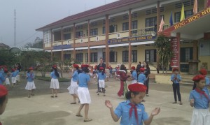 students' dancing