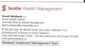Derek Weisbeck Scotia Wealth Mangement - Copy