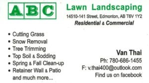 ABC Lawn Landscaping
