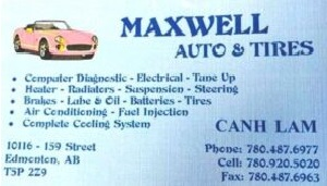Maxwell Auto & Tires