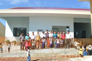 two new classrooms