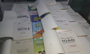 Library Books donated by VES