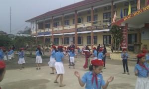 students' dancing